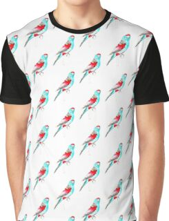 Birds in INK ~ Paradise Parrot Graphic T-Shirt