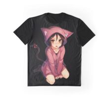 Neko - Cat Girl 2 Graphic T-Shirt