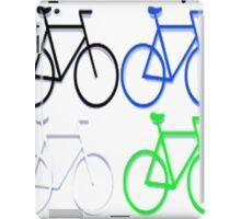 4 bicycles iPad Case/Skin