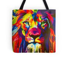 Pop Lion Tote Bag