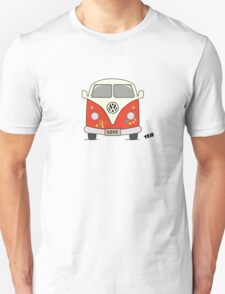 Volkswagen retro car, peace and love Unisex T-Shirt