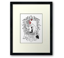 The World Is Cursed Framed Print
