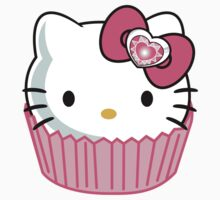 Hello Kitty Cupcake by xxmloq