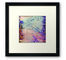 Abstract Pastels Framed Print