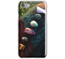 Chakra Stones for Good Vibes iPhone Case/Skin