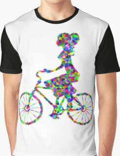 girl on bike Graphic T-Shirt
