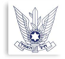 ISRAELI AIR FORCE Metal Print