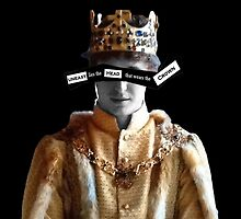 Edward IV - Uneasy lies the head that wears the crown by diggorypuff