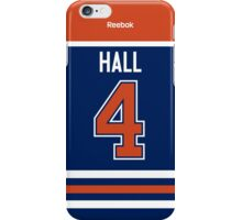 Edmonton Oilers Taylor Hall Jersey Back Phone Case iPhone Case/Skin