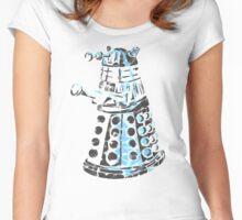 Dalek Graffiti Women's Fitted Scoop T-Shirt