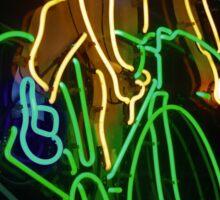Neon Rider Sticker