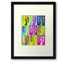 Weeping Pop-Art Framed Print