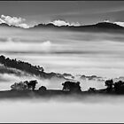Ovens Valley winter layers by Kevin McGennan