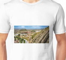 The view from the castle at Xixona Unisex T-Shirt