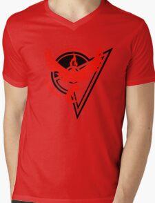 Pokemon GO - Team Valor Badge Mens V-Neck T-Shirt