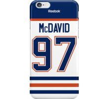 Edmonton Oilers Connor McDavid Away Jersey Back Phone Case iPhone Case/Skin