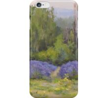 Lavender Clouds iPhone Case/Skin