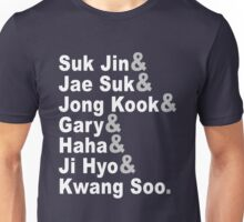 Running Man Unisex T-Shirt