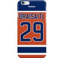 Edmonton Oilers Leon Draisaitl Alternate Jersey Back Phone Case iPhone Case/Skin
