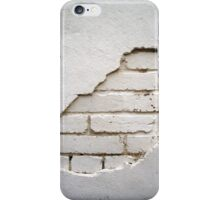 Revealed White Brickwork - Cases, Prints, Pillows and Totes iPhone Case/Skin