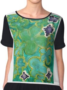 Ground Cover by Margo Humphries Chiffon Top