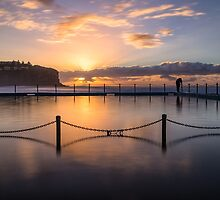 Bilgola Beach Sunrise by yolanda