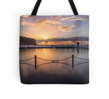 Bilgola Beach Sunrise Tote Bag