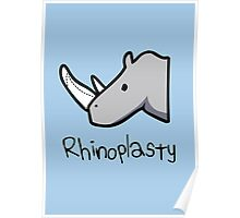 Rhinoplasty (text) Poster