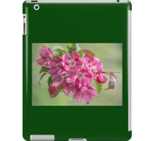 Crabapple Blossoms iPad Case/Skin