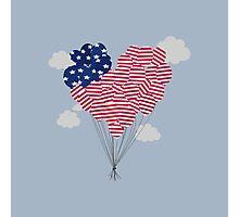 Balloons USA Photographic Print