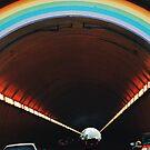 Rainbow tunnel by Santamariaa
