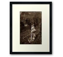 Portrait with hobby horse Framed Print