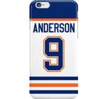 Edmonton Oilers Glenn Anderson Jersey Back Phone Case iPhone Case/Skin