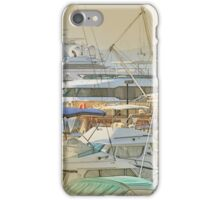 Boat harbour  iPhone Case/Skin