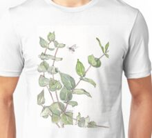 Gums and bees - Botanical Unisex T-Shirt