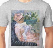 Vintage Fine Art - Marry Cassett 1880 - The cup of tea Unisex T-Shirt