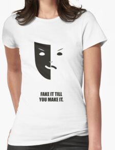 You Make IT - Business Quotes Poster Womens Fitted T-Shirt
