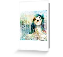 Above Greeting Card