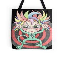 Rainbow Detox Demon Tote Bag