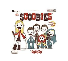 Buffy And The Scoobies Photographic Print