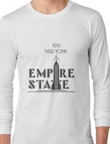The Empire State Building, NY Long Sleeve T-Shirt