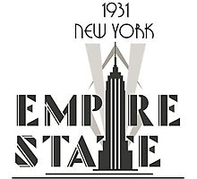 The Empire State Building, NY Photographic Print