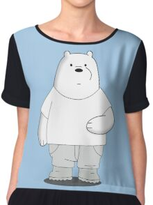 We Bare Bears - Fashionable Ice Bear Chiffon Top