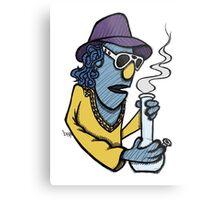 Zoot Smoking Weed Metal Print