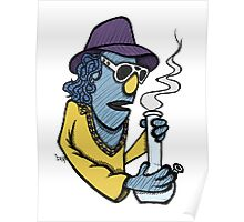 Zoot Smoking Weed Poster