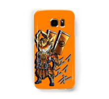Triumphant Orange Samsung Galaxy Case/Skin