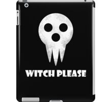 soul eater- witch please iPad Case/Skin