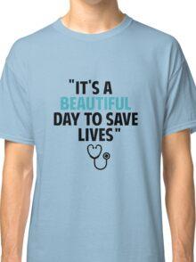Grey's Anatomy - Slogan Classic T-Shirt