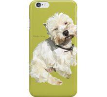 Jessica, West Highland White Terrier iPhone Case/Skin