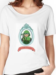 You Make Me Quiver - Oliver Queen Women's Relaxed Fit T-Shirt